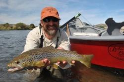 Pescando el Río Caleufu
