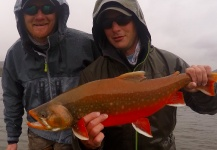 Char caught by Dan Frasier in <strong>Alaska</strong> – Fly Fishing - Fly dreamers