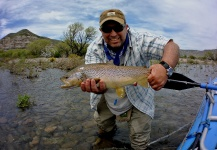 Fly-fishing Photoof Brownie shared by Chelo . – Fly dreamers