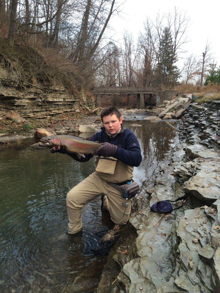 Erie pennsylvania steelhead fly dreamers for Erie steelhead fishing report
