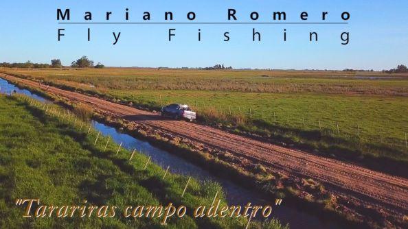 Tarariras campo adentro, nuevo video de pesca con mosca, imagen aérea: Juanjo Bueno