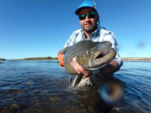 Limay Medio River... patagonia...Argentina