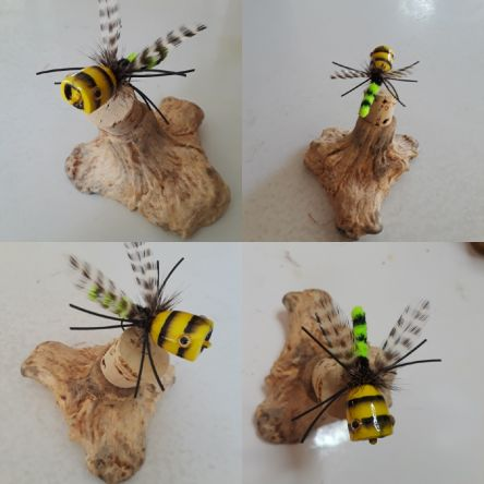 Bee Popper. It might entice something that swims.
