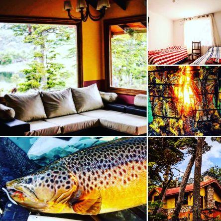 Fueguinas lakes circuit...temporada 2019 lodge lago #fagneano  ..buscando la trucha marrón residente de tu sueños ...con el mejor servicio y gastronomía de la región  Ushuaia tierra del fuego  Mymflycast@gmail.com  Www.mymflycast.com.ar