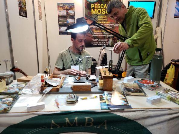 Amba en la Expo caza y pesca 2018