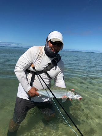 This was the second bonefish landed today.