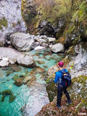 Lost in a marble trout paradise!