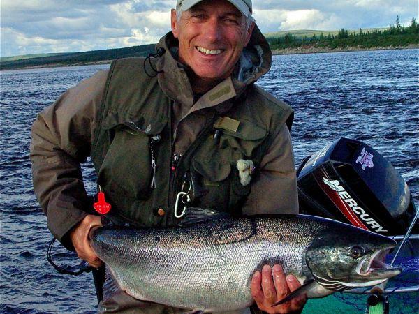 Atlantic Salmon Fishing.