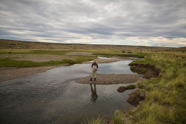 Fishing and living Patagonia at the Route december 2019