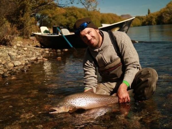 fly fishing guide in Bariloche Patagonia