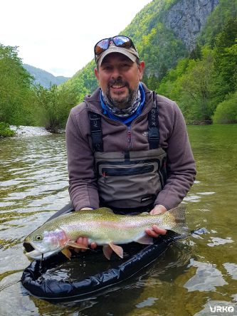 "Tony aka ""The Big Fish"" strikes again, this time on a dry fly!"