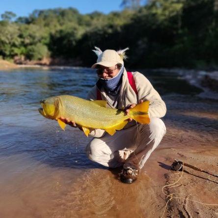 Fly fishing Rio Dorado 2019