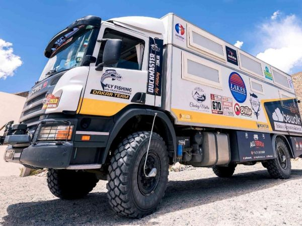 Fly Fishing 4x4 truck experience