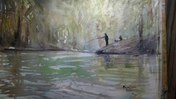Está si tiene título, La piedra mora, suelo pescar ahi